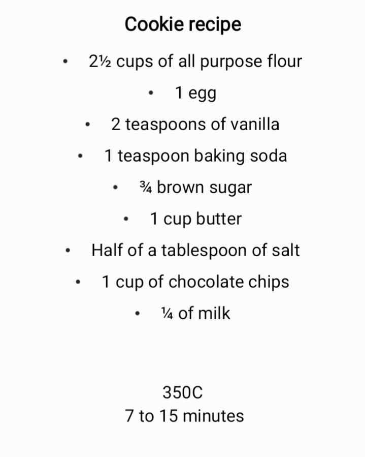 The best chocolate chip cookie recipe #cookies
