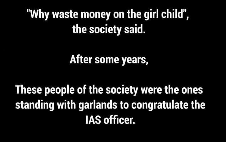 ❤️.   IAS Officer 💐 #NationalGirlChildDay2021 #DeshKiBeti