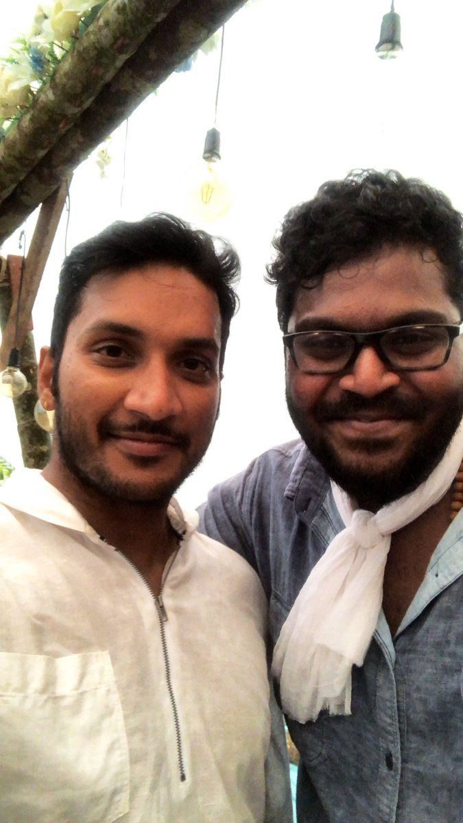 Many many more happy returns of the day dear @dancersatz bro!! 🤗🤗🤗 Wish you an awesome awesome year ahead ❤️ #Imaikkaanodigal #Cobra #FavChoreographer ❤️