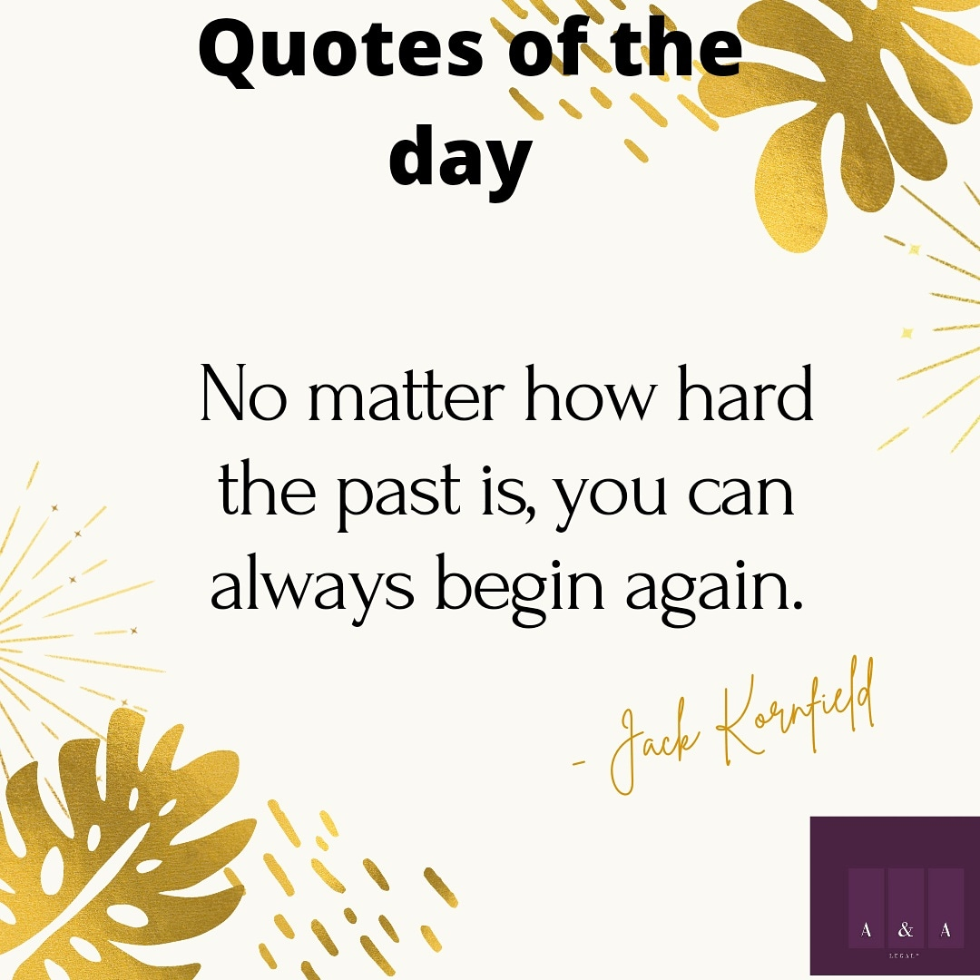 No matter how hard the past is,  you can always begin again....  #sundaymotivation #corporatelaw #entertainmentlaw #personaldevelopment #intellectualproperty #energylaw #oilandgasindustry