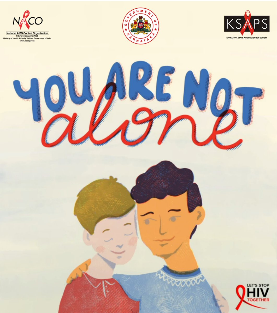 Do not discriminate #HIV infected people. Support them and spread love not stigma. #hivaids #hivawareness #hiveducation #knowyourstatus #hivtest #gettested #health #youthsagainsthiv #endaids @PMOIndia @narendramodi @CMofKarnataka @MoHFW_INDIA @DrHVoffice @UNICEFIndia @WHO