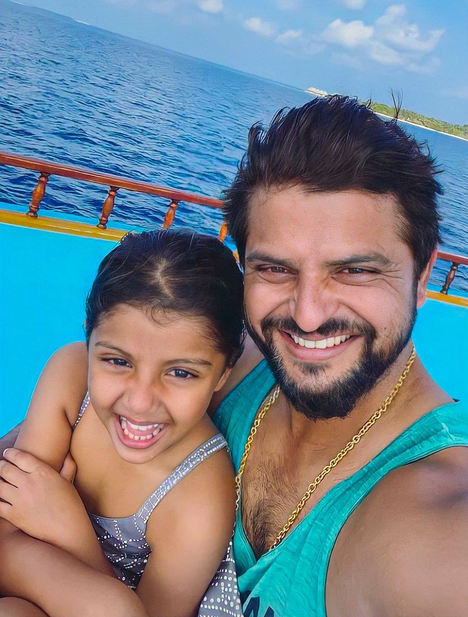 Happy National Girl Child Day Gracia  ❤ #SureshRaina • @ImRaina • #NationalGirlChildDay