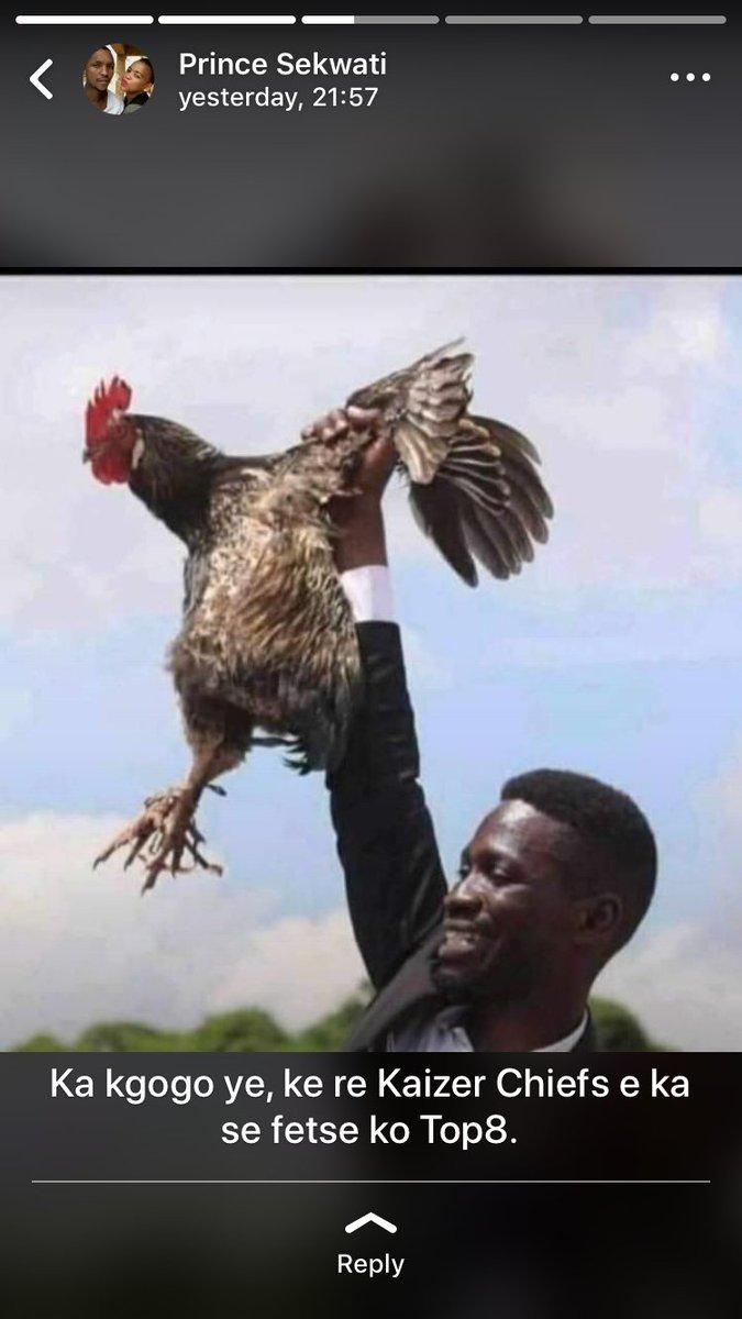 #Chiefs .. ka kgogo e Kere #chiefs never e fetse ko top 8