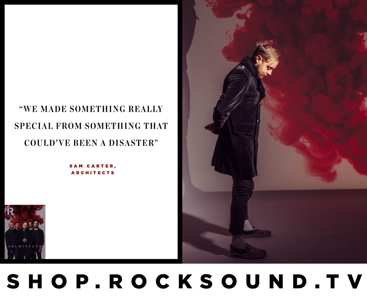 You seriously aren't ready for what Architects have created with 'For Those That Wish To Exist'.   We got the full story on how it came to exist in the latest issue of Rock Sound, which you can pick up now from