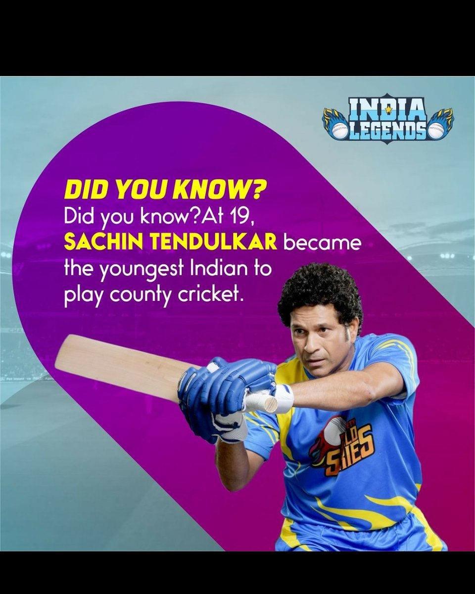 Here's to a lesser-known fact about the god of cricket! @SachinTendulkar@RSWorldSeries . . #roadsafetyworldseries #rsworldseries #indialegends #sachintendulkar #sehwag #cricket #india #icc #love #cricketer #indiancricketteam #dhoni #indiancricket #cricketfans #lovecricket