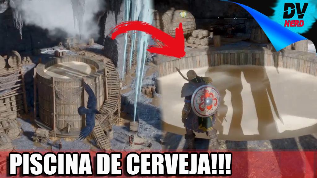 Assassin's Creed Valhalla: PISCINA DE CERVEJA - Ainda Sai Bêbado - SKOL Video:   #SKOL #davinerss #playstation4 #AssassinsCreedValhalla
