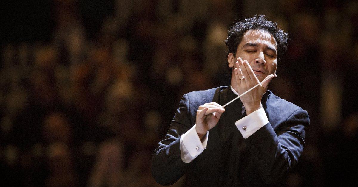 Ya se oye el Scherzo, 2do. movimiento de la Novena Sinfonía de #Beethoven250 dirigido por la batuta colombiana de Andrés Orozco-Estrada en #TCVSinfoníasBeethoven por @710CAPiTAL y