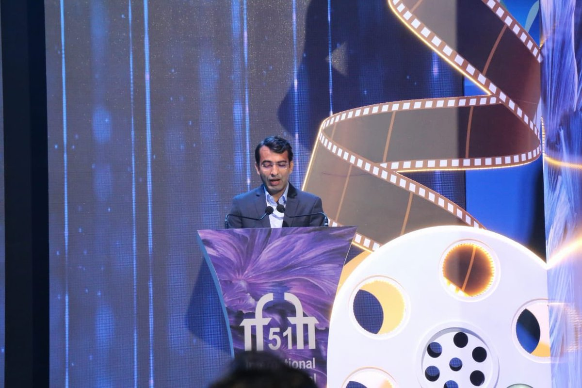 Shri @satija_amit, CEO - Entertainment Society Of Goa, Shares The Glimpses of #IFFI51.  @Chatty111Prasad @PIB_India @MIB_India