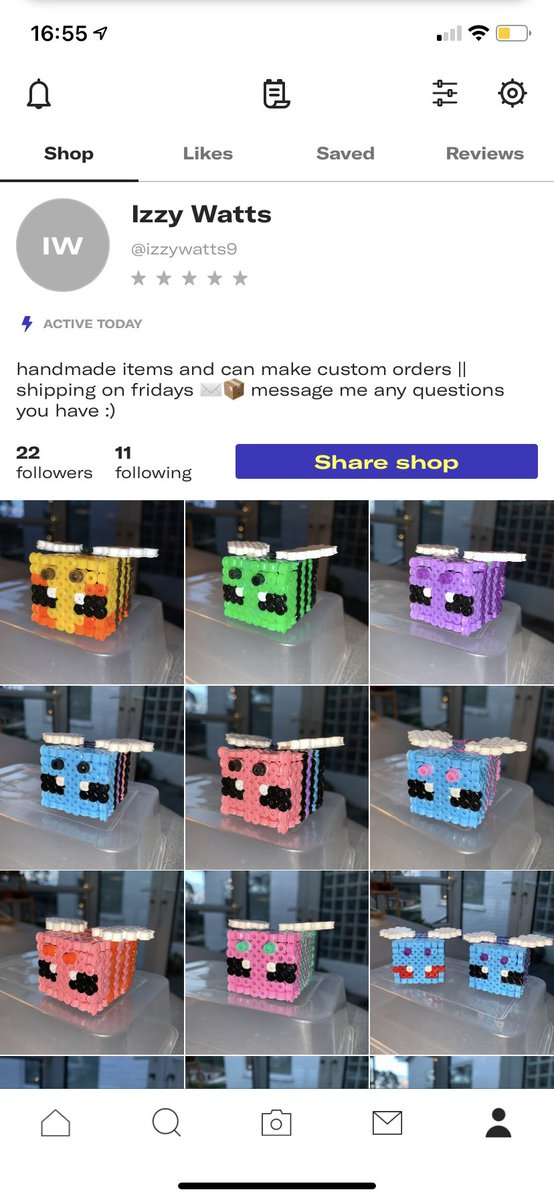 minecraft inspired bumble bees listed on my shop      #smallbusinessuk #minecraft #bees #depop #ad #smallbusiness #handmade
