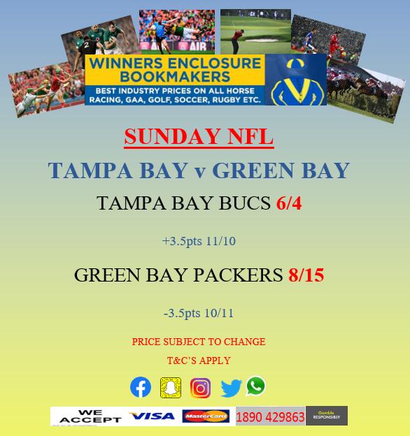 Tampa Bay v Green Bay 🏉 @Buccaneers v @packers @NFL #nflredzone #NFL100 #NFLKickoff