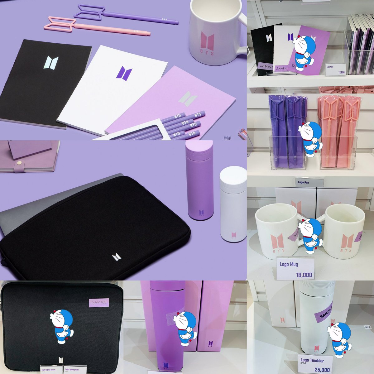 """[PREORDER] #BTS_POPUP #SPACE_OF_BTS BASIC & LOGO Theme Products. ❣  Note: 🏷 RM90 Pen: 🏷 RM70 Mug: 🏷 RM110 Laptop Pouch 15"""": 🏷 RM180 Tumbler 500ml: 🏷 RM160 Tumbler 320ml: 🏷 RM140 📦 TBA  #BTSARMY #Malaysia #PreOrder  📣  🔁 Help RT @BTStrading_MY"""