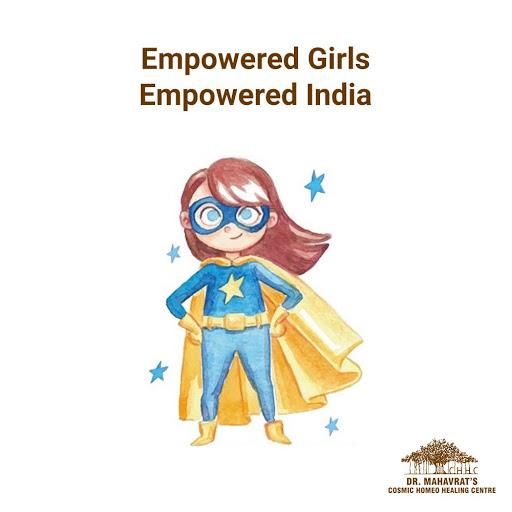 Even a little girl is capable of encouraging and empowering the nation. Happy National Girl Child Day!    #girlchild #children #girl #women #girlchildeducation #girlpower #girlchildempowerment #covid