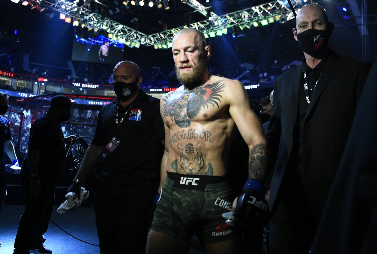 What's next for @TheNotoriousMMA?    [ #UFC257 | #InAbuDhabi | @VisitAbuDhabi ]