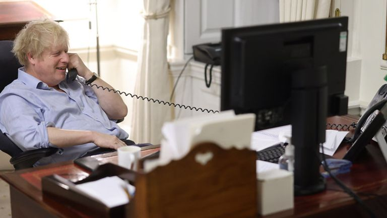 Boris Johnson speaks to President Joe Biden in first phone call  More:   Boris Johnson has spoken to the newly inaugurated US President Joe Biden in a Saturday evening phone call to #Washington DC. After the... #Cornwall #Mexico #Paris #Winston