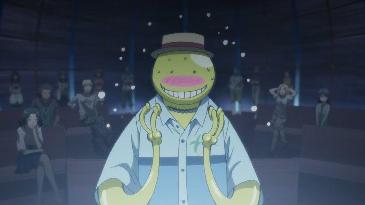 Koro-Sensei! 🤣 #AssassinationClassroom #Toonami