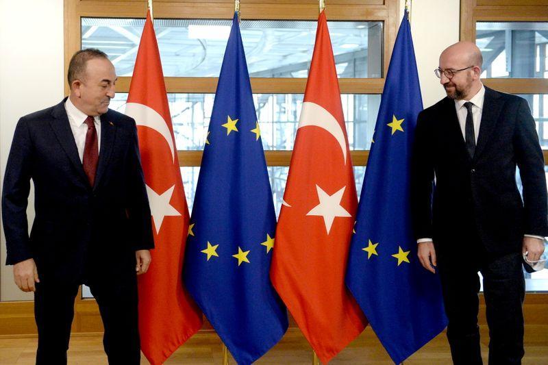 Turkey hopes Mediterranean talks can calm choppy waters with EU https://t.co/ka3s6GuC3n https://t.co/khWRLdWWH4