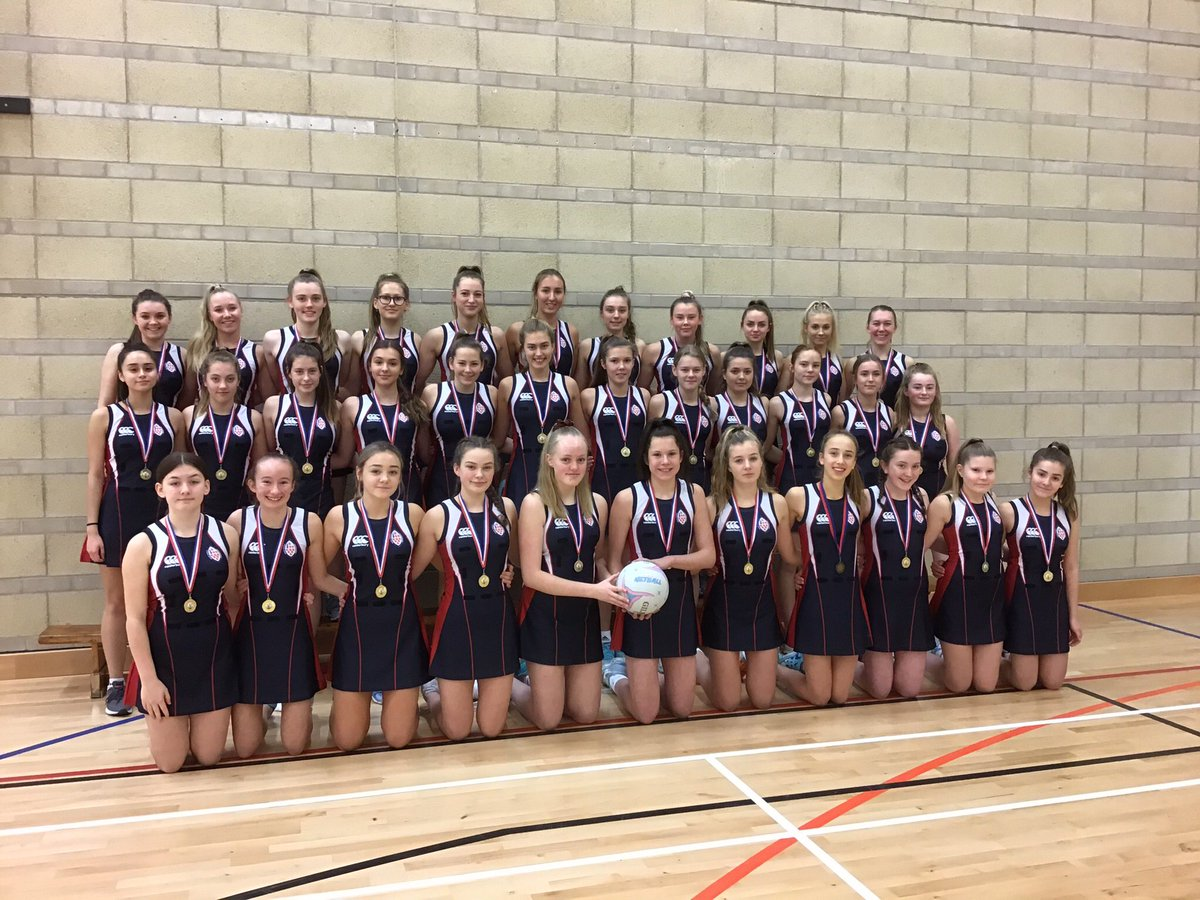 """#Throwback to a time when """"social distancing"""" was not a well known phrase!    On this day last year @kings_sport made history, with all 3 @KingsWorcester teams competing at the @EnglandNetball Regional finals🏐💥🔵   """"Memories take us back, but dreams take us forward"""" #TeamKings"""