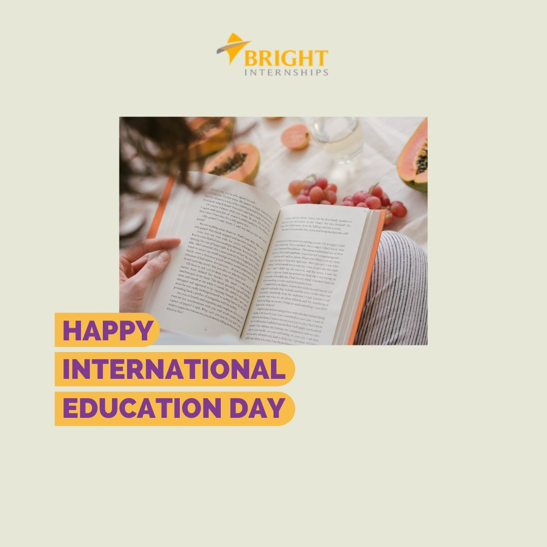 """He who opens a school door, closes a prison."" - Victor Hugo Happy International Education day, brighterns.  #BrightInternships #4BrighterYou #internships #internshipprogram #internshipplacement #internshipstudent #internationalinternship #internshipabroad #magang #magangkerja"