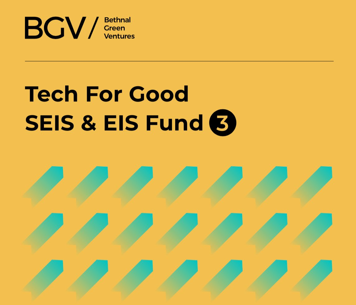 Looking for #ImpactInvesting opportunities? Tap into @bg_ventures' wealth of experience in #TechforGood with their SEIS & EIS Fund 3. Find out more via . Capital at risk. For professional investors only. #ImpInv
