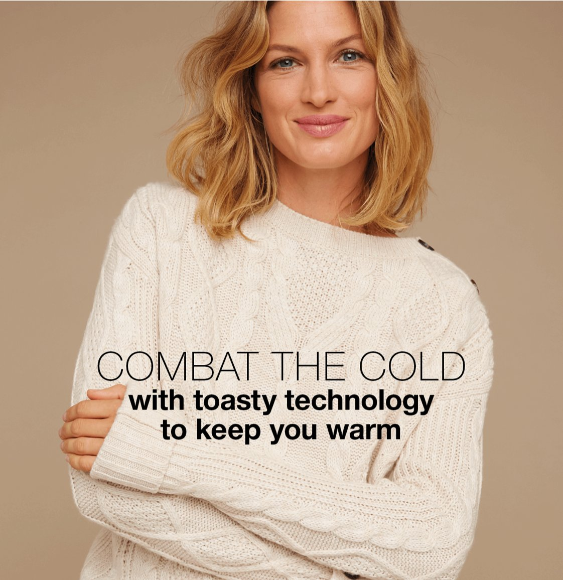 Combat the cold! Toasty tops and cosy cardigans. Shop our thermal range and wave goodbye to the chill! Wrap Up Warm: bit.ly/3sldsAU