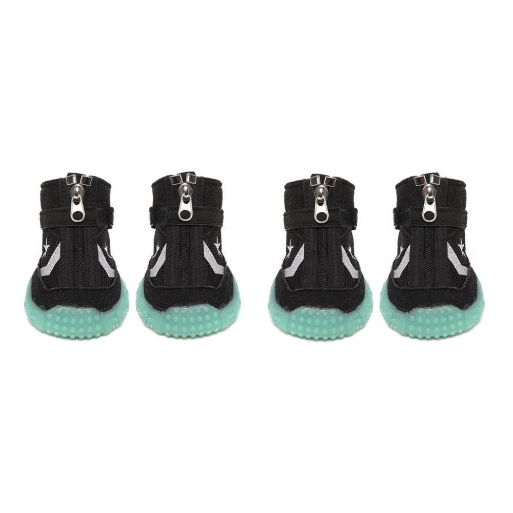 #love #nature Breathable Luminous Dog Shoes