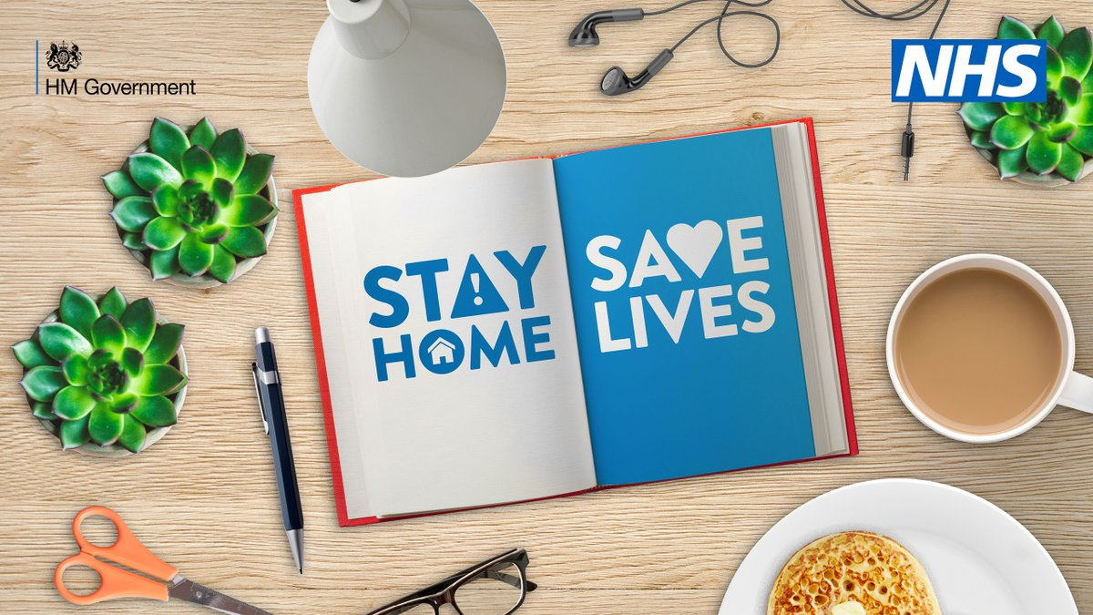 For your family  For your friends   For our NHS  Please #StayAtHome