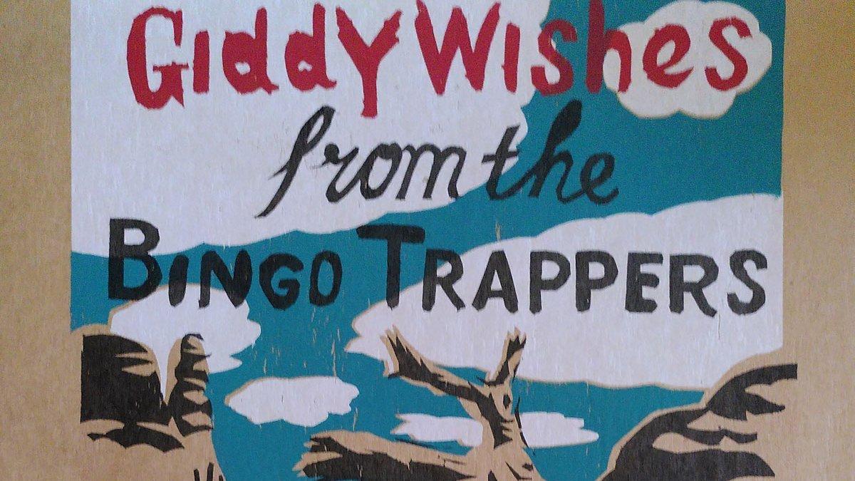 Bingo Trappers - Giddy Wishes (2020). Hoy, crítica/reseña en el siguiente link del Exile SH Magazine: https://t.co/vQwvXxCll8 . https://t.co/6N30LOq5H4