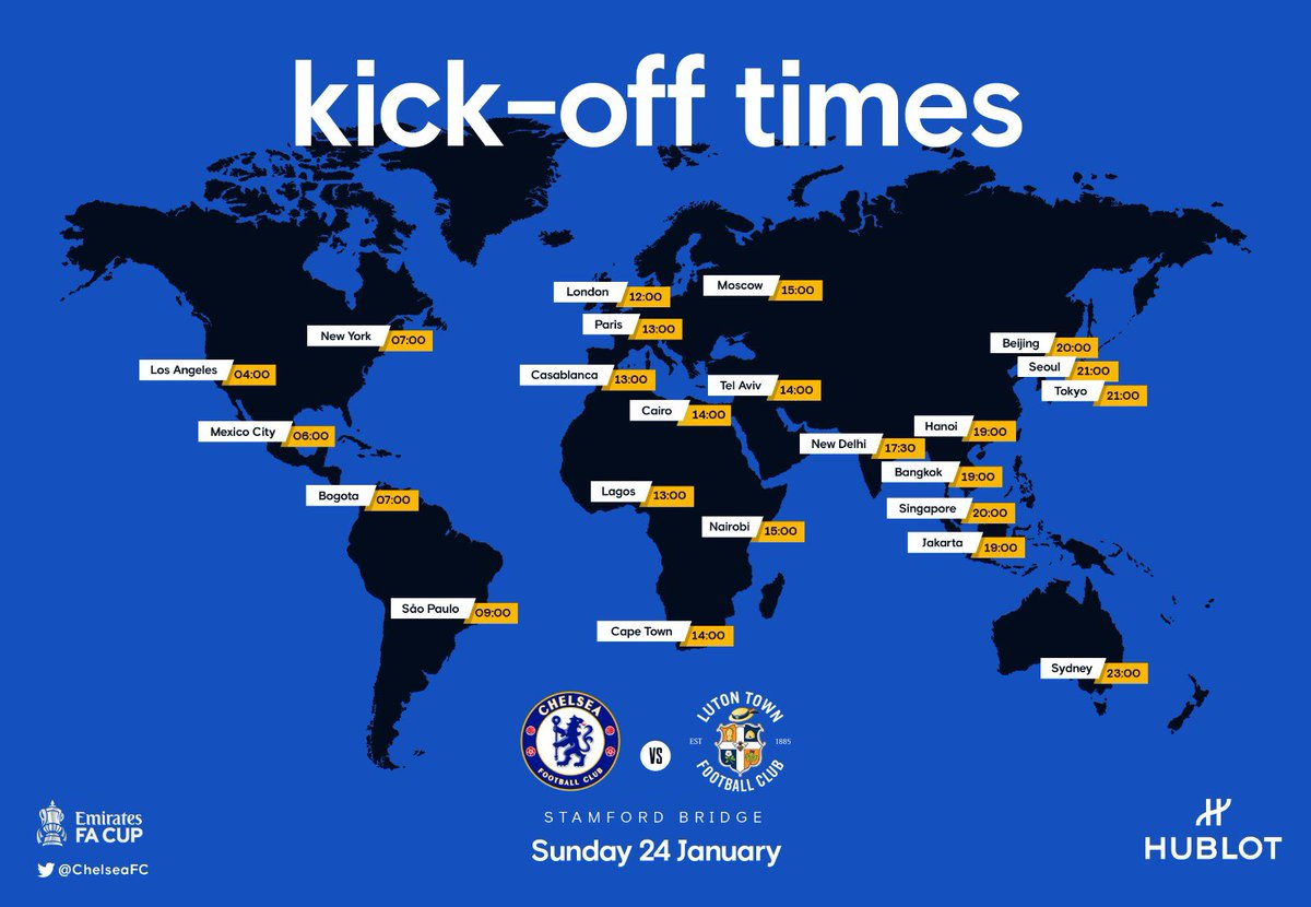 Where will you be watching #CHELUT?  Let us know 🌎