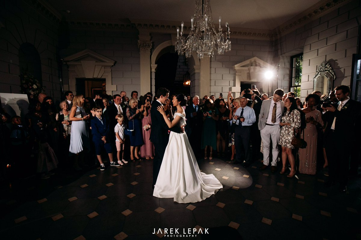 5. THE FIRST DANCE. After your ceremony, drinks reception, wedding breakfast & photos, the Grand Hall then transforms into your dance floor ready for your first dance & a fun night full of dancing, laughter & great memories. #firstdance #wedding #bridetobe #bride #weddinginspo