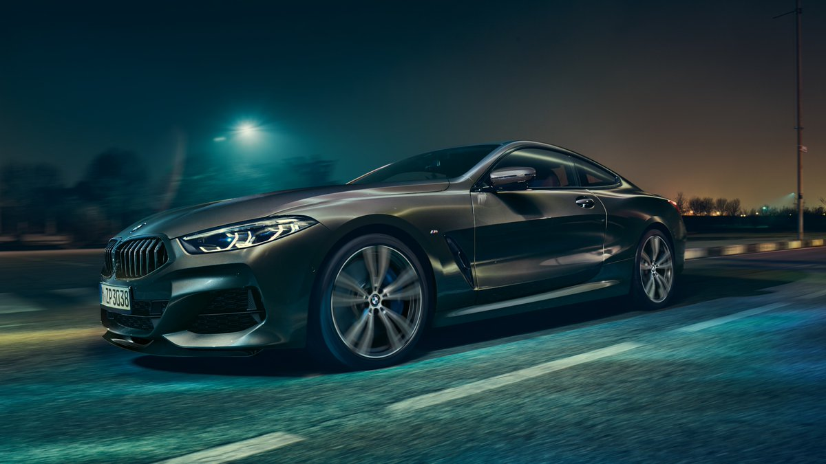 Just spicing up your weekend. #THE8  The #BMW M850i xDrive Coupé. Fuel consumption weighted combined in l/100km: 10.0–9.9 (NEDC); 10.8–10.7 (WLTP), CO2 emissions weighted combined in g/km: 227–224 (NEDC); 247–244 (WLTP). https://t.co/twXzMrWMl3 https://t.co/INmjetmwEs