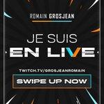 Image for the Tweet beginning: I'm live !!!!