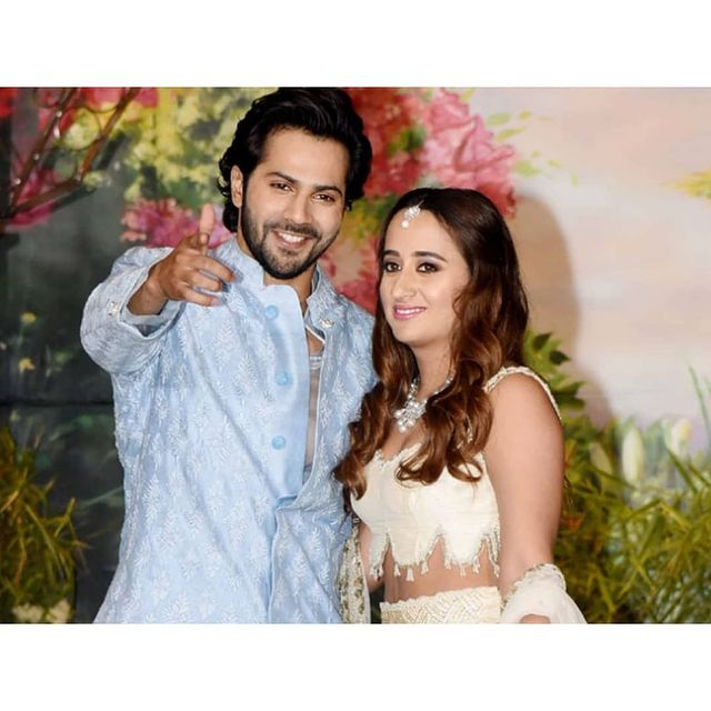 Given the strict no cell phone policy at #VarunDhawan and #NatashaDalal's wedding, stickers are being stuck on staff members' mobile phone cameras which, if removed, will immediately alert security.