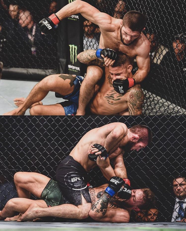 The respect @TheNotoriousMMA has shown in defeat makes him the legend he is. @DustinPoirier put in a performance worth of A GOAT. This post Khabib generation is exciting! #UFC257