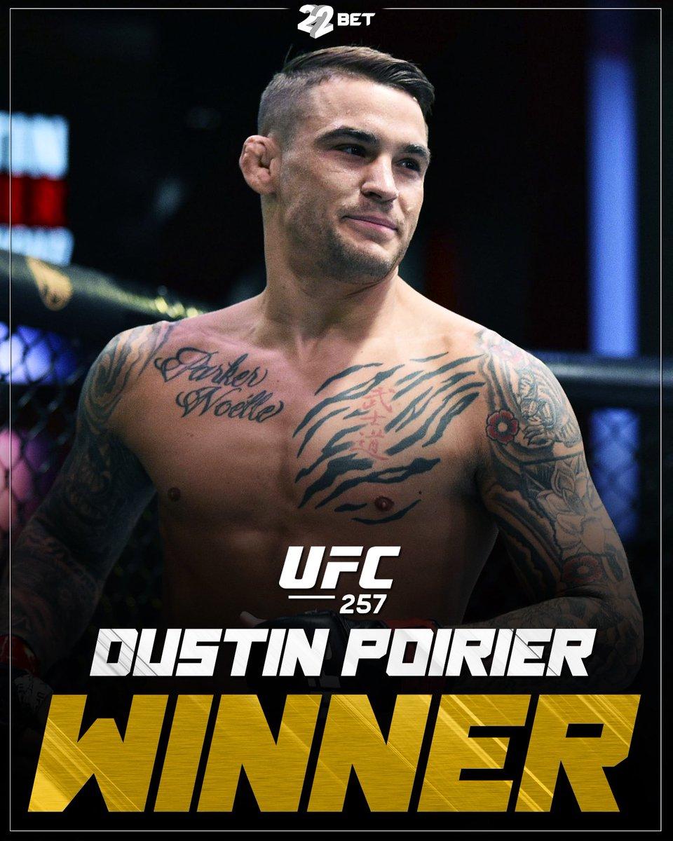 Dustin Poirier🇺🇸UFC2️⃣5️⃣7️⃣WINNER✅ #ufc #dustinpoirier #mcgregor #winner #mma #fighter #22bet