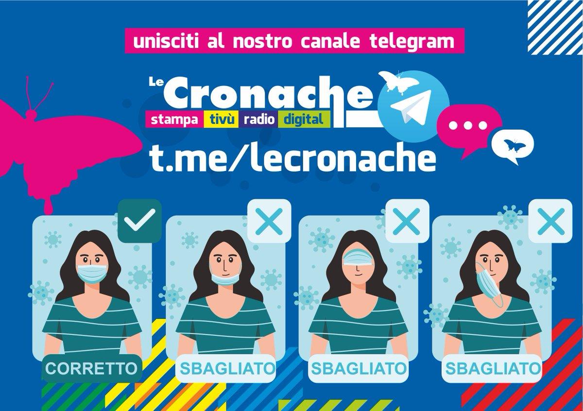 UNISCITI AL NOSTRO CANALE TELEGRAM 🗣 - Tutti gli aggiornamenti sul #coronavirus in tempo reale📰  -