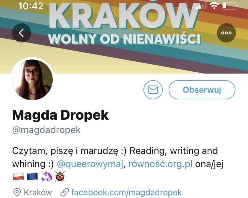 Magda Dropek wolna od nienawiści 👌 https://t.co/ssmmkSDZo4 https://t.co/0uLxsL37Rm