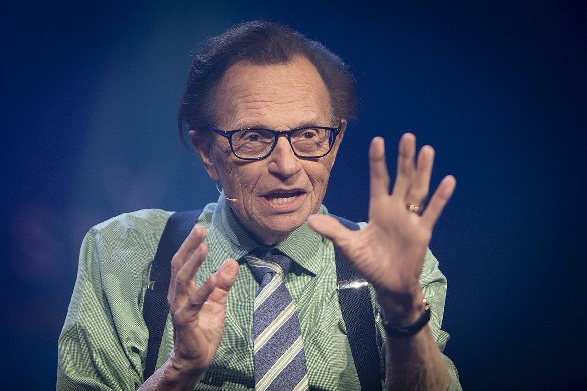 News Editor Consults 14 Years of Drafts When Writing Obituary for Larry King https://t.co/53lcmp6aUA