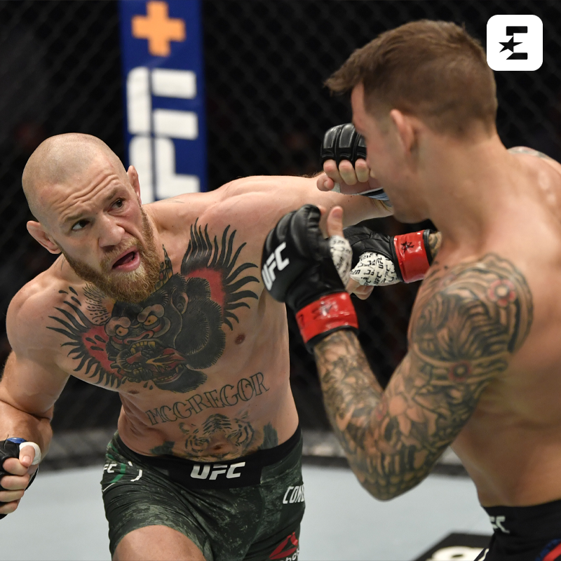 Finisce il dominio di Conor McGregor 😮🇮🇪  Dustin Poirier manda k.o. l'irlandese nel main event di UFC 257 🥊 🇺🇸  ➡️   #MMA #UFC257 #McGregorPoirier