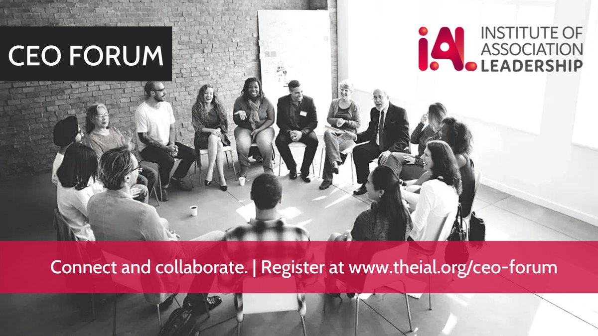 Connect and collaborate at the IAL CEO Forum  Join us on Tuesday 26 January (4 - 5pm GMT) for our first CEO Forum of 2021.   Register at   #CEOForum #conversationsthatcount #leadership #community #associations