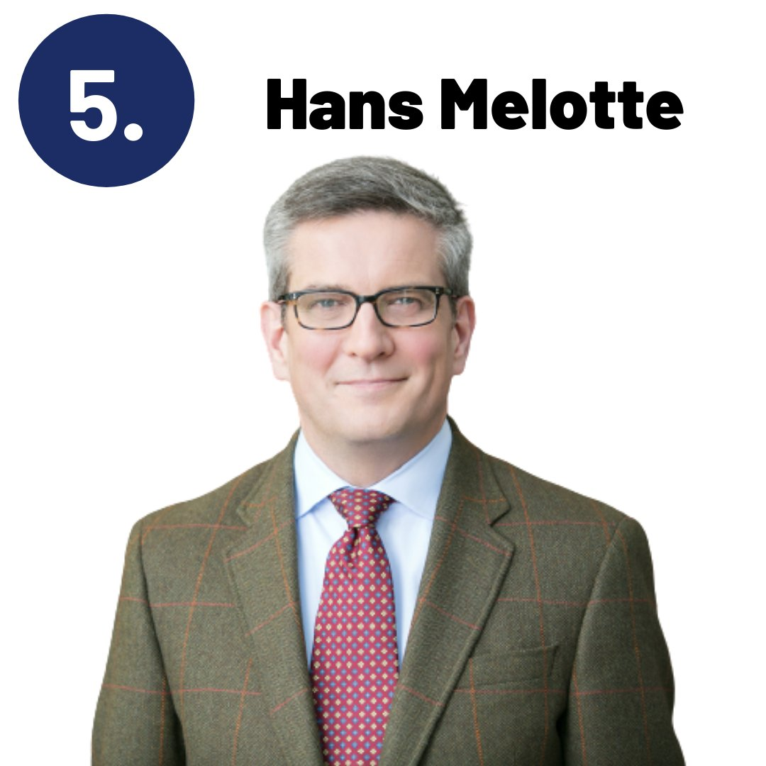 At number 5 on our Top 10 CPOs list is Hans Melotte 👏  Read the full list here:  #SupplyChain #Procurement #Leadership #CPOs