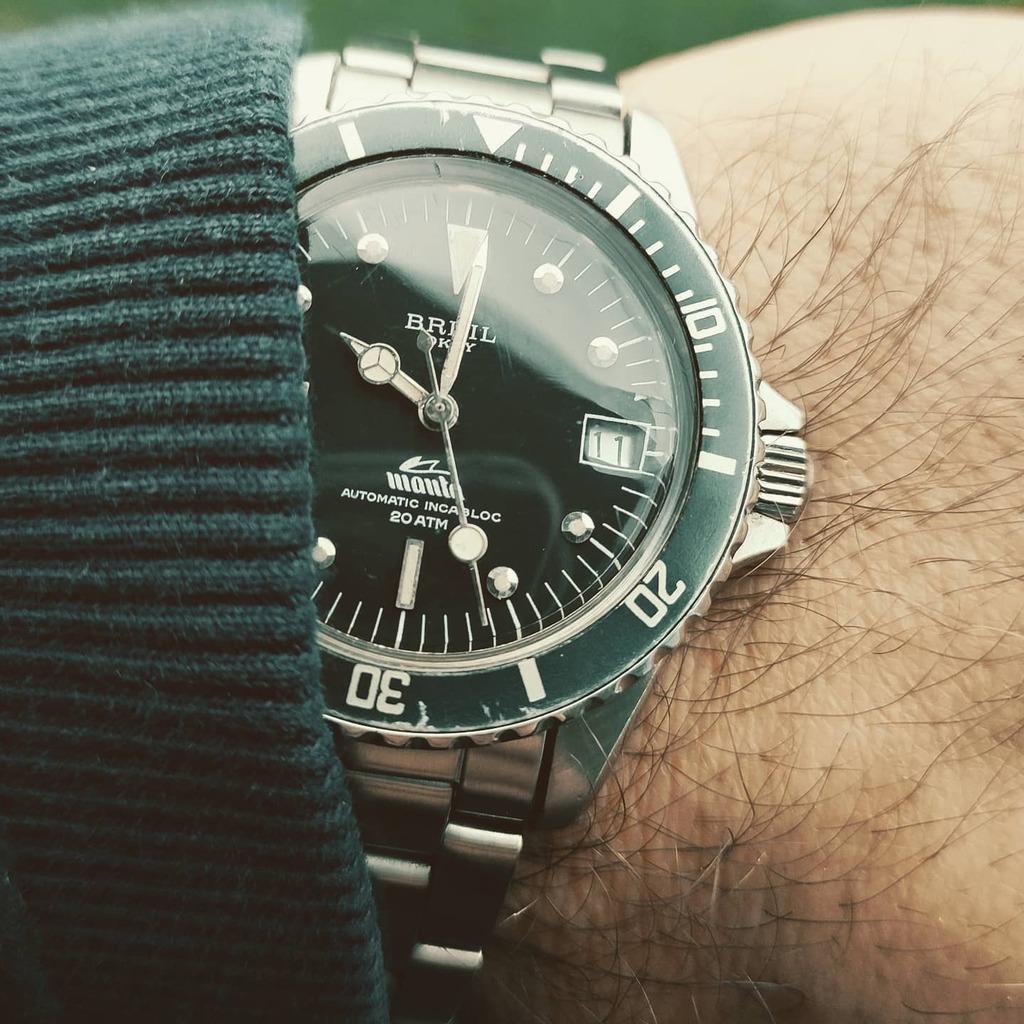 BREIL MANTA VINTAGE. Un altro orologio che appaga gli amanti del vintage #watches #wus #watchgeek #watchaddict #watchcollector #timepiece #instawatch #watchesofinstagram #watchnerd #swisswatch #watchoftheday #wotd #wristgame #watchgame #watchlover #watch…
