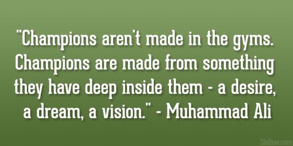 Muhammad Ali.- #quote #leadership