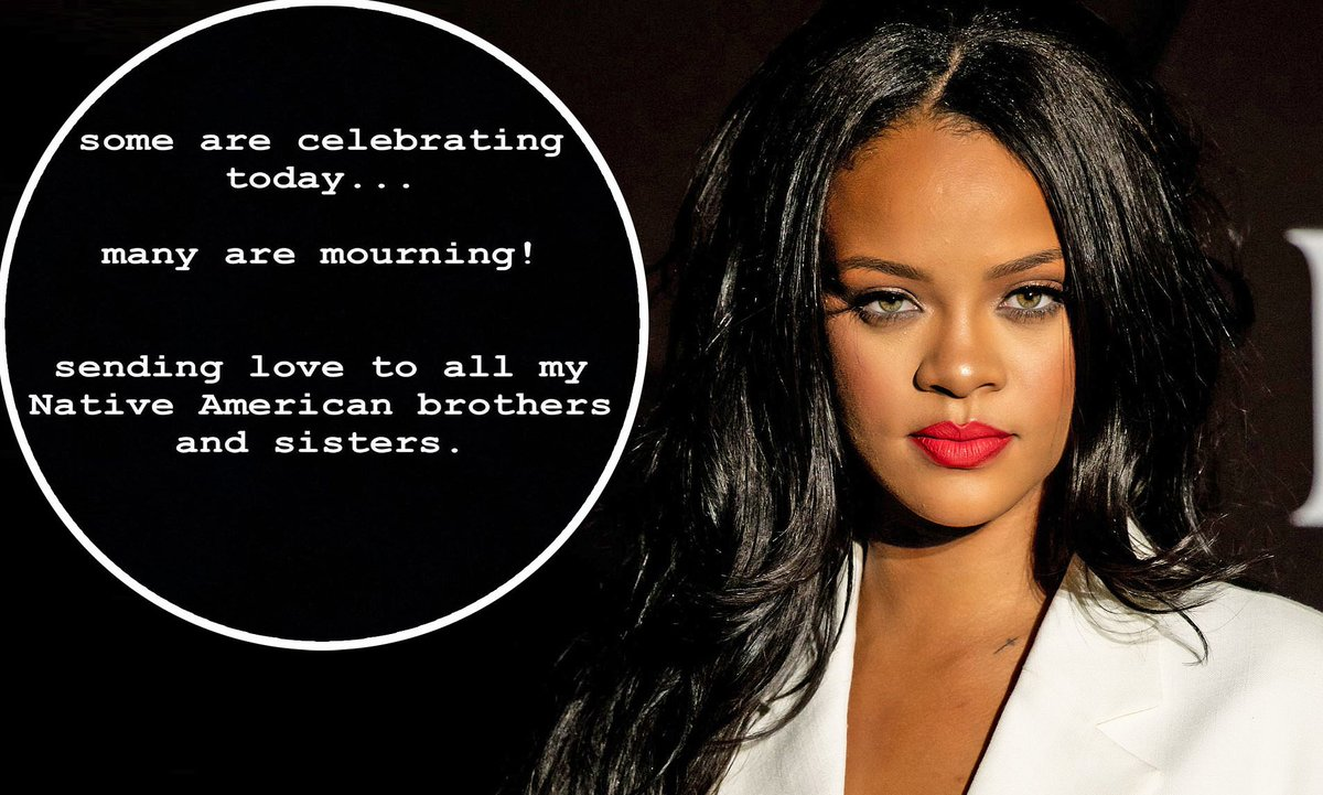 NEVER FORGET: Rihanna Honors Native Americans on Thanksgiving Holiday  #NativeAmericans #Rihanna #Thanksgiving