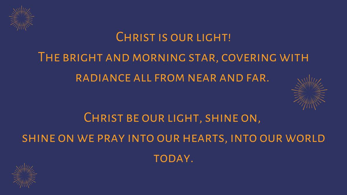#SundayHymn lyrics from Leith Fisher
