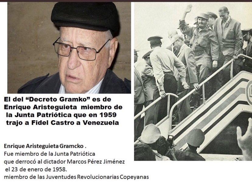@NituPerez La colaboración de Gramcko @earistiguieta con Fidel Castro?  O la de su sobrino con el TEATRO del Junquito con el montaje del asesinato a #OscarPerez?   #23ene #VenezuelaUnidaYEnPaz #Venezuela #MaduroDictador #GuaidoPresoYa #guaidovendistecitgo #Guaido