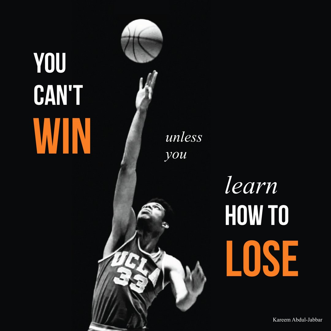 You can't win, unless you learn how to lose.  Visit:   #motivation #inspire #inspiration #love #believe #success #mindset #quotes #job #jobs #career #jobs #hr #careers #hiring #work #working #jobsearch