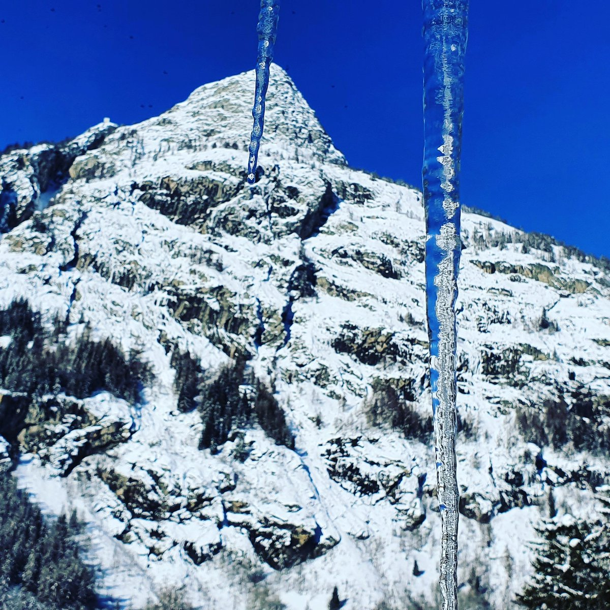 """GOOD MORNING  """"If you get up in the morning and think the future is going to be better, it is a bright day. Otherwise, it's not."""" – .@elonmusk #courmayeur #aostavalley #picoftheday #tourdumontblanc #nature #instamood #alps #moutainlovers #montblanc #skyway #hotelboutondor #winter"""