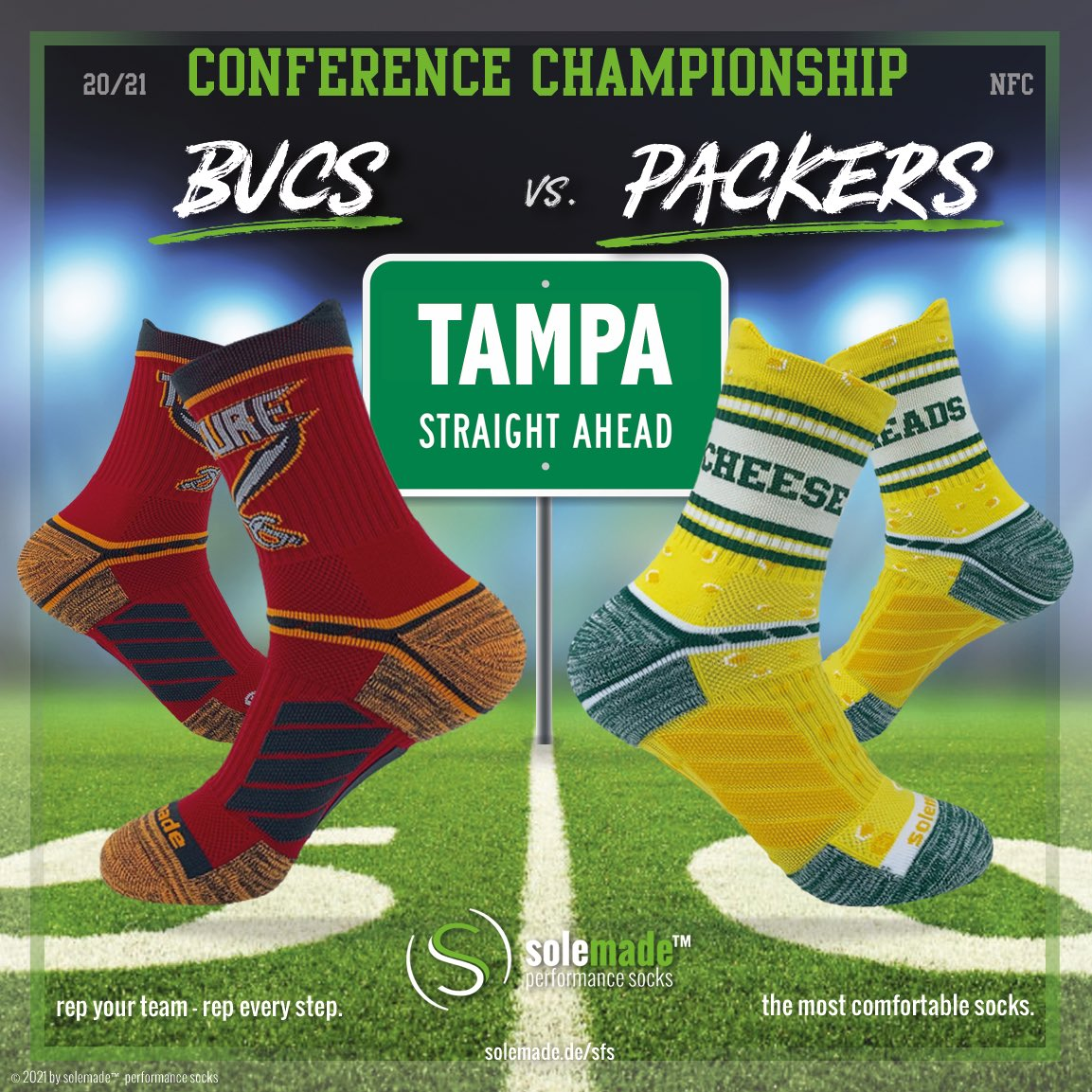 #solemadefootballstyles - #TBvsGB & #BUFvsKC - who you with? Rep your team and rep every step:  - #bills #chiefs #buccaneers #packers #afcchampionshipgame #solemade #conferencexhampionshipgame #rannfl #rannflsüchtig #solemade #nfcchampionshipgame #SBLV #NFL