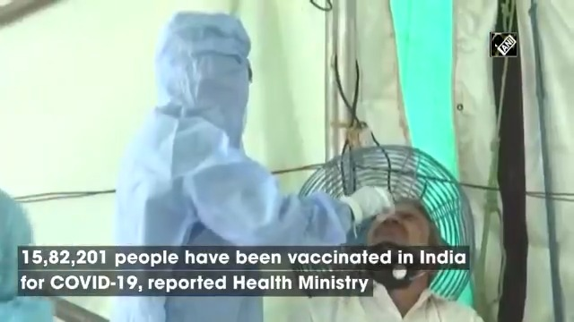 COVID-19 in India: 14,849 new cases reported in last 24 hrs; over 15 lakh vaccinated so far | Track today's latest news here: