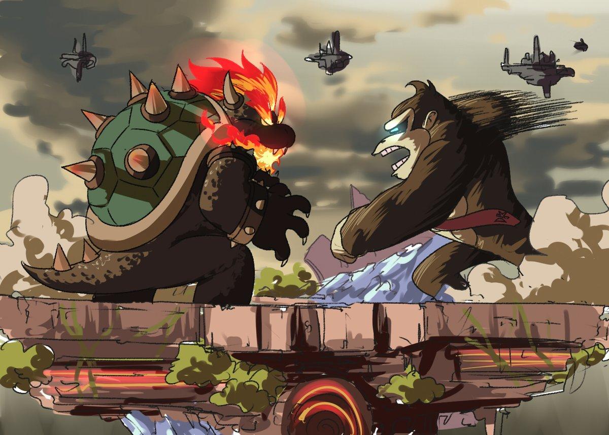 Replying to @TinaFate1: The new Godzilla vs Kong movie's looking sick